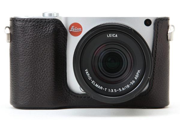 Artisan & Artist Leather Half Case For Leica T Black
