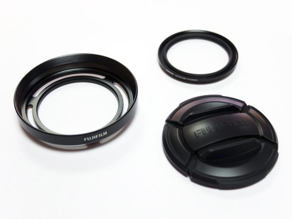X20/X10 Lens Hood & Protector Filter Super EBC Fujinon