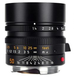 Leica 50mm f/1.4 Summilux ASPH (Black)