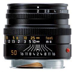 Leica Summicron-M 50mm f/2 (Black)