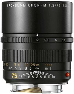 Leica APO-Summicron-M 75mm f/2 ASPH (Black)