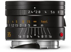 Leica Summarit-M 35mm f/2.4 ASPH (Black)