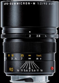Leica APO Summicron-M 90mm f/2 ASPH (Black)