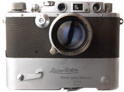 Leica IIIB + Mooly Motor + 5cm Summitar