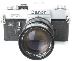 Canon FTB + 135mm f2.8 FD Lens