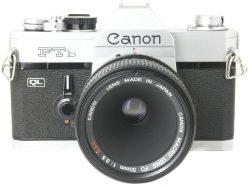 Canon FTB + 50mm f3.5 Macro FD