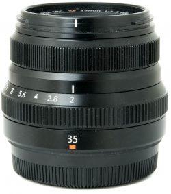 Fujifilm XF 35mm f2 R WR Black Boxed