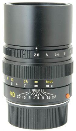 Leica 90mm F2.8 Elmarit-M 6 Bit Boxed