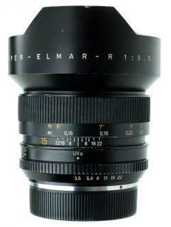 Leica 15mm f/3.5 Super Elmar-R 3 CAM