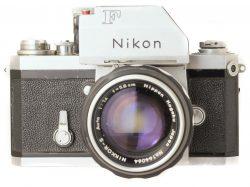 Nikon F Silver + Nikkor-S 5.8cm f1.4