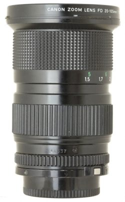 Canon 35-105mm f3.5 FD Zoom Lens