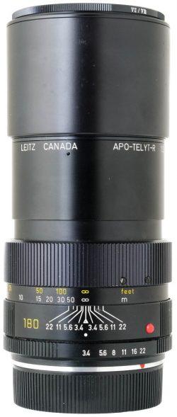 Leica 180mm F3.4 APO - Telyt R 3CAM Boxed