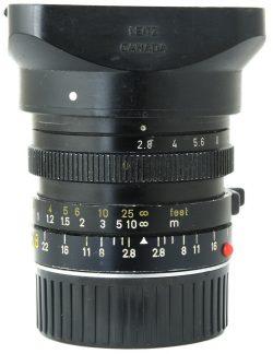Leica 28mm f2.8 Elmarit-M Third Version