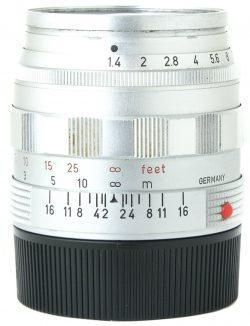 Leica 50mm f1.4 Summilux-M Chrome Type 1