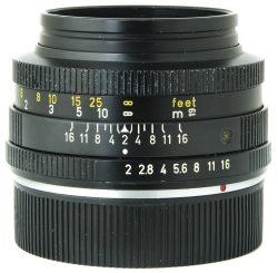 Leica 50mm f2 Summocron R 2 Cam