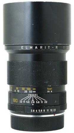 Leica 180mm f2.8 Elmarit R 3 Cam
