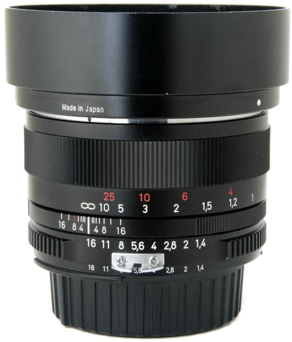 Zeiss 50mm F1.4 Planar ZF Boxed