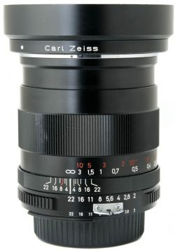 Zeiss 35mm F2 Distagon ZF Boxed