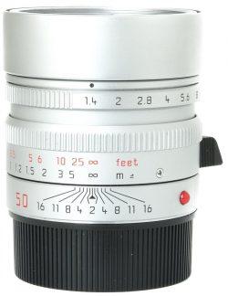 Leica 50mm f1.4 Summilux-M ASPH Chrome