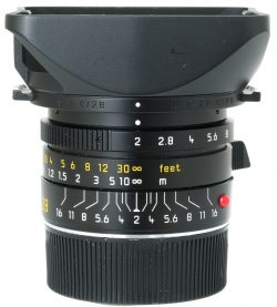 Leica 28mm f2 Summicron-M ASPH 6 Bit