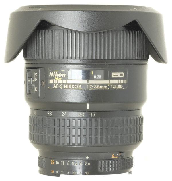 Nikon AF-S Nikon 17-35 f2.8 D