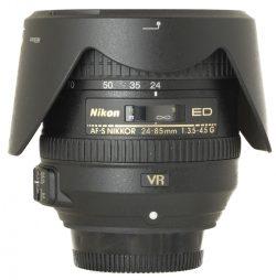 Nikon AF-S 24-85 f3.5-4.5 G VF