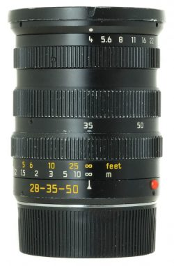Leica Tri Elmar 28-35-50mm f4 ASPH Type 1 Black