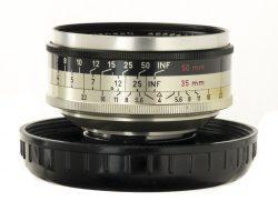 Schnider 35mm f/4 Retina Curtar Xenon