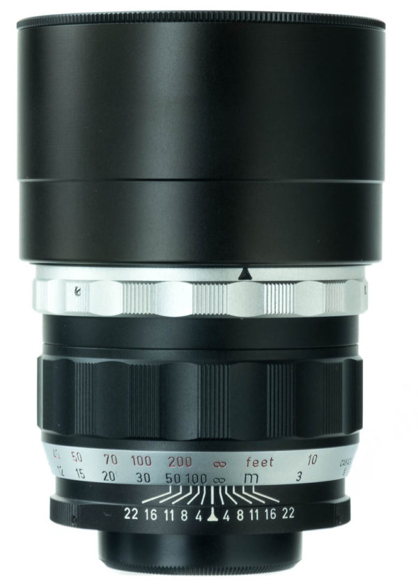 Leica Telyt 200mm f/4 l39 w caps, boxed