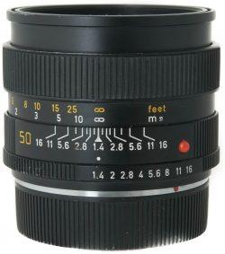 Leica 50mm f1.4 Summilux-R 3 Cam