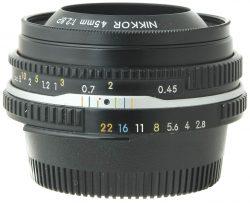 Nikon 45mm f2.8 P Black