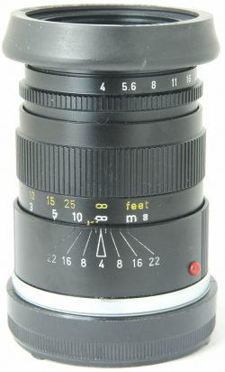 Leica 90mm f4 Elmar C + Hood Boxed