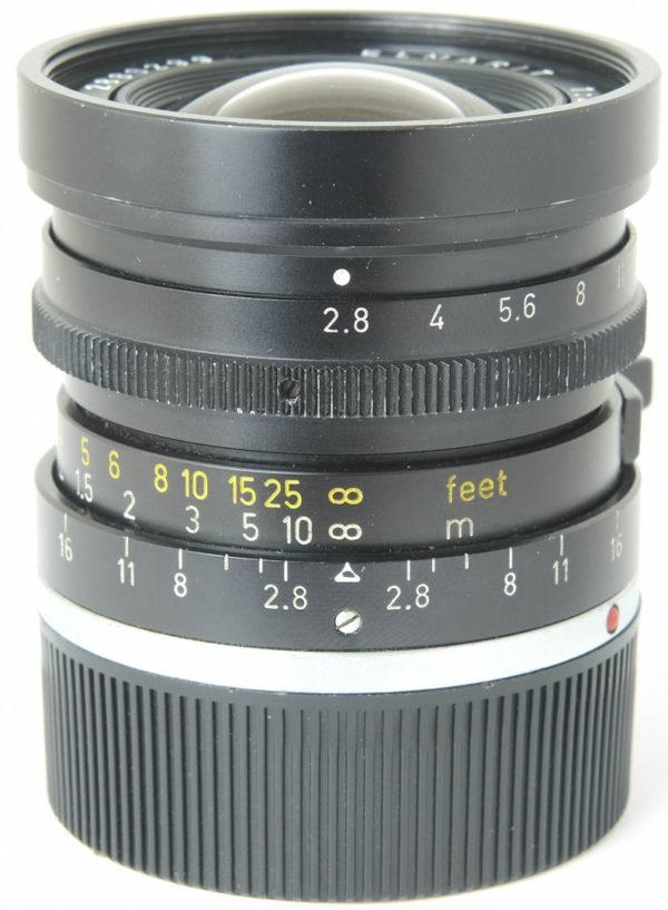 Leitz 28mm f2.8 Elmarit-M Type 2 Black