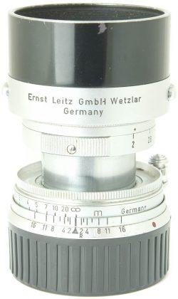 Leitz 5cm f2 Summicron M Collapsible