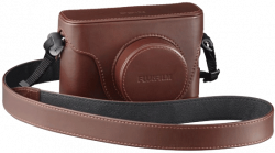 Leather Case LC-X100F (Brown)