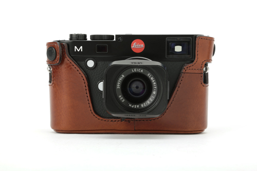Artisan & Artist Leather Half Case For Leica 240 Brown
