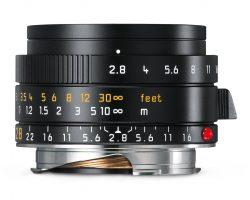 Leica Elmarit-M 28mm f/2.8 ASPH (Black)