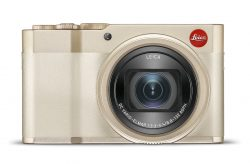 Leica C-lux white gold camera