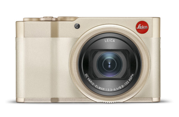 Leica C-lux white gold camera