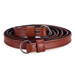 Leica 14454 Leather Carrying Strap Cognac