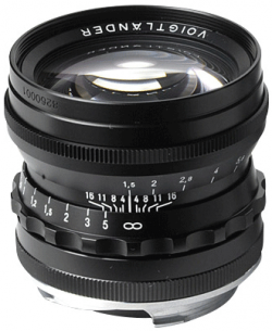 50 f/1.5 Nokton Aspherical (Black)