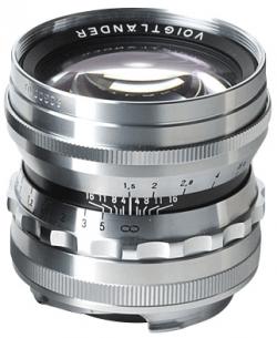 50 f/1.5 Nokton Aspherical (Chrome)