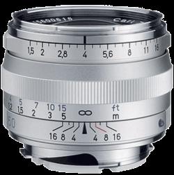C Sonnar T* 1,5/50 ZM (Silver)