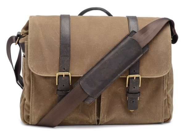ONA Bag, Brixton for Leica, Canvas, field tan