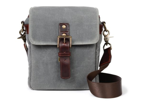 ONA Bag, The Bond Street for Leica, canvas, smoke