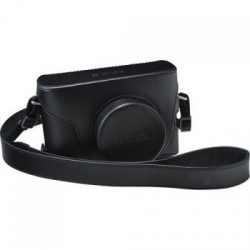 Leather Case LC-X100F (Black)