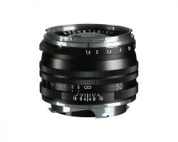 Voigtlander 50mm black lens