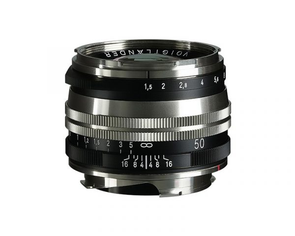 Voigtlander 50mm Nickel lens