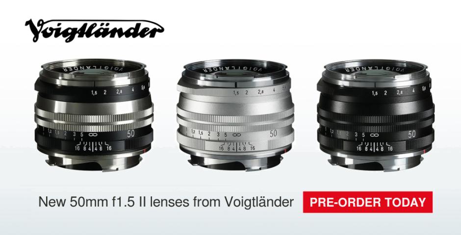 voigtlander 50mm lenses